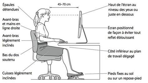 bonne position bureau astuce n 1 penser à l ergonomie de bureau entrad