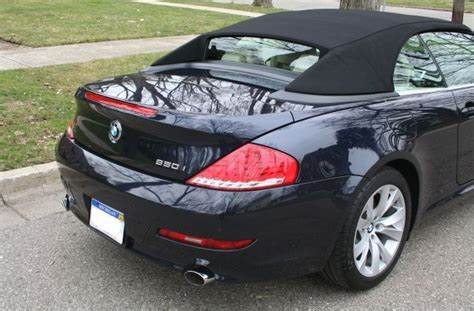 2008 Bmw 650i For Sale by Convertible Week 2008 Bmw 650i 6 Speed Manual German