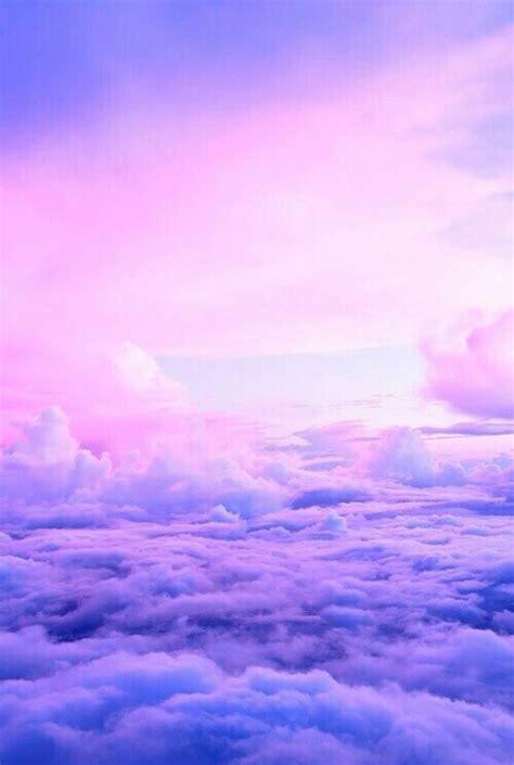 Purple Lavender Clouds Sky Aesthetic