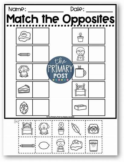 Worksheets Opposite Activities Opposites Preschool Printable Toddlers