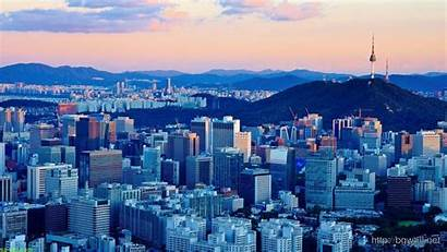 Korea Seoul South Wallpapers Widescreen Wallpaperaccess Afternoon