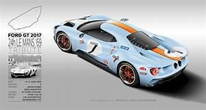24h Le Mans 2017 : 2017 ford gt 66 69 24h le mans livery tribute by marco van overbeeke hypercars le sommet ~ Medecine-chirurgie-esthetiques.com Avis de Voitures