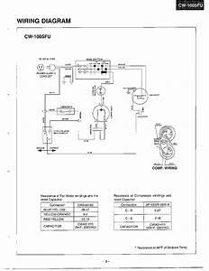 Panasonic Model Cw-1206fu Air Conditioner