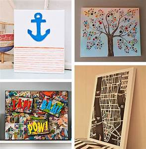 Diy canvas wall art ideas tutorials