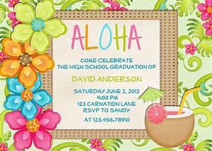 20 luau birthday invitations designs birthday party invitations templates for Luau party invitation template