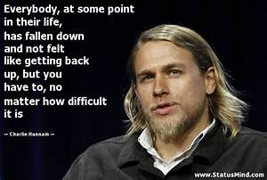 Charlie Hunnam Quotes at StatusMind.com
