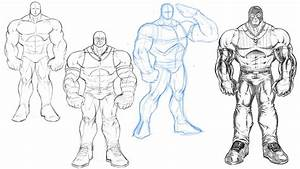 Muscle Drawing Pictures