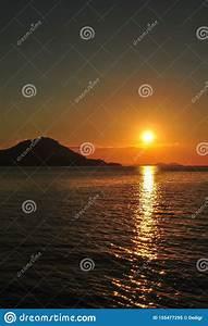 beautiful, sunset, in, tropical, komodo, island, , labuan, bajo