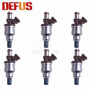 Defus New Arrival 6pcs 23250 6501 Nozzle Fuel Injector
