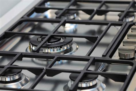 stove grates clean cleaning gas iron burners cast tips polish burner ammonia kitchen covers homes electric ironhorseinnsteamboat bhg