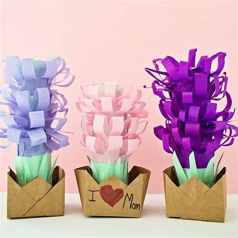 paper tissue hyacinth flower pots  wonderful