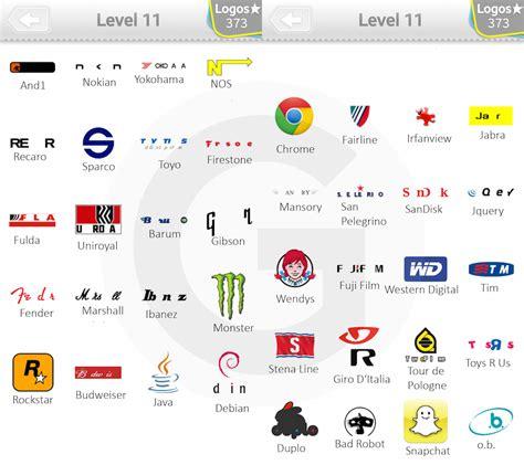 image gallery logos level 11