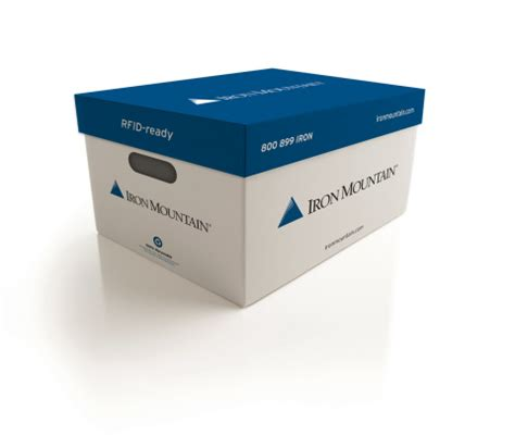 Iron Mountain's new RFID-ready box, available in North ...