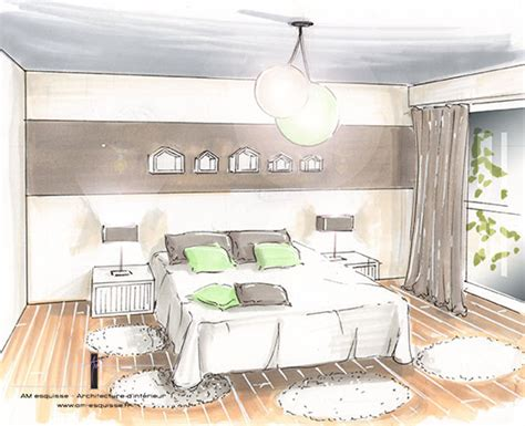 chambre en perspective dessin stunning chambre en perspective lineaire ideas design