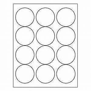 12 sheets 72 2 1 2 inch blank round circle white With blank round stickers for printing