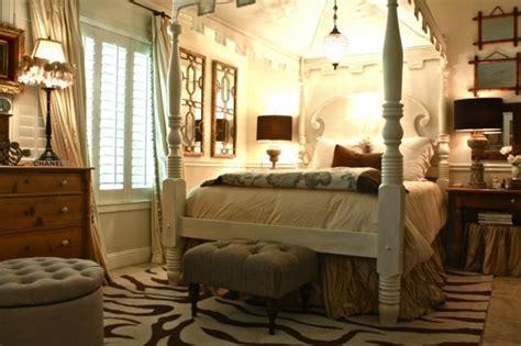 decoration zebre chambre tapis zebre deco