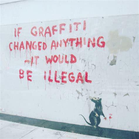 banksy world graffiti artist  technique career  work