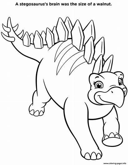 Dino Rescue Coloring Dinosaur Stegosaurus Paw Patrol