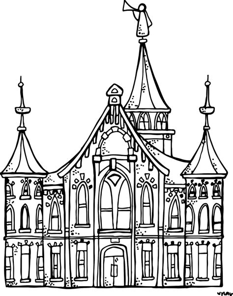 Building The Temple Coloring Pages Building The Temple Coloring Pages 1985451