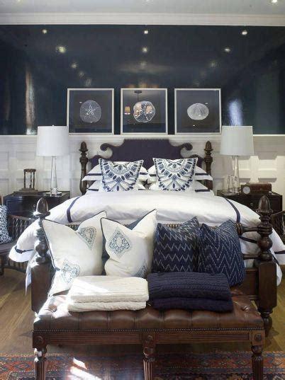navy blue bedroom design cottage bedroom phoebe howard
