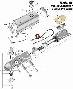 Trailer Hitch Coupler Repair Diagram
