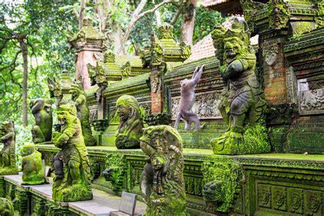 monkey forest ubud tempat wisata wajib dikunjungi  bali