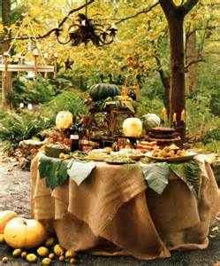 wedding cake harvest burlap tablecloth 20 awesome fall buffet ideas for your