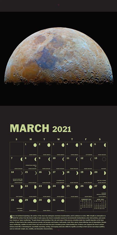 lunar  wall calendar book summary video official