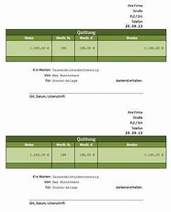 Quittung Statt Rechnung : rechnung excel vorlagen f r jeden zweck ~ Themetempest.com Abrechnung