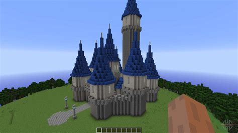 island castle  minecraft