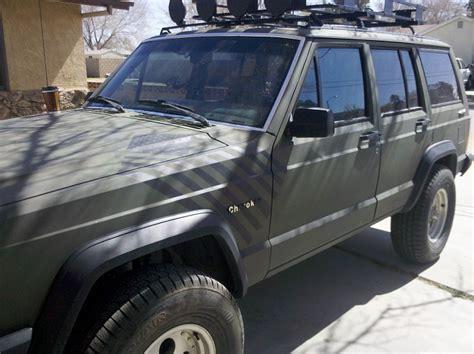 camo jeep cherokee post pics of camo painted xj 39 s jeep cherokee forum