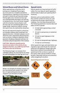 Arizona Driver License Manual And Customer Service Guide 2018