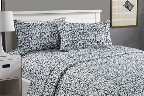 carlylehome king size soft touch printed sheet