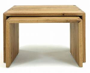 Beistelltisch Holz Massiv : 2x couchtisch beistelltisch kernbuche oder wildeiche massiv holz ~ Indierocktalk.com Haus und Dekorationen