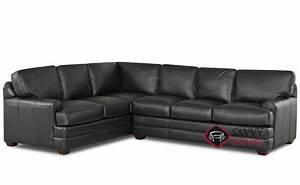 halifax leather true sectional by savvy is fully With sectional sofa halifax