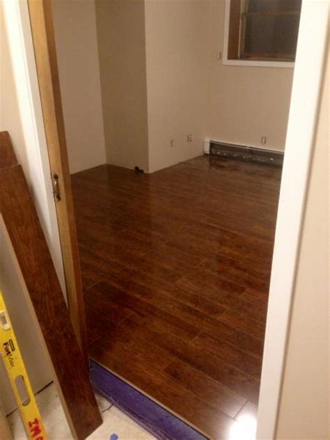laminate wood flooring do it yourself has my laminate floor been installed wrong doityourself com community forums