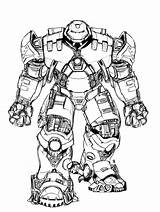 Hulk Buster Colouring Ironman Hulkbuster Iron Sketch Again Bar Looking Case Don sketch template