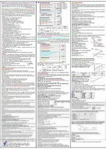 Fbf Final Exam Cheat Sheet