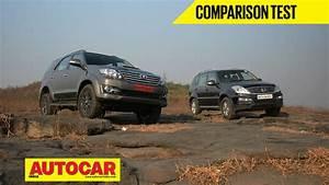 Toyota Fortuner 4wd Auto Vs Ssangyong Rexton Video Comparison