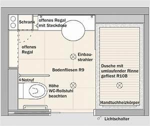 Behindertengerechtes Bad Maße : barrierefreies wohnen ~ A.2002-acura-tl-radio.info Haus und Dekorationen