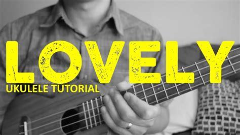 lovely billie eilish khalid fingerpicking ukulele tutorial chords   play youtube