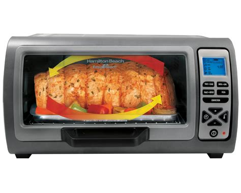 safest toaster oven hamilton 31128 easy reach digital convection toaster