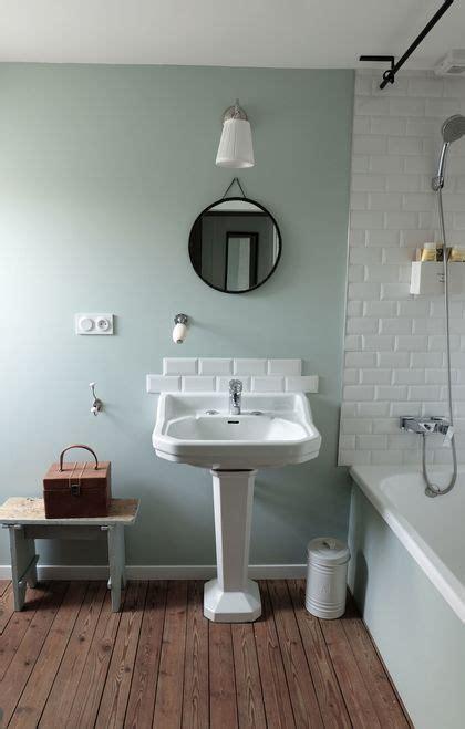 salle de bain deco vintage  retro cote maison
