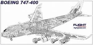 Sitzplan Boeing 747