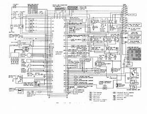 Nissan B14 Series Schematic Diagram