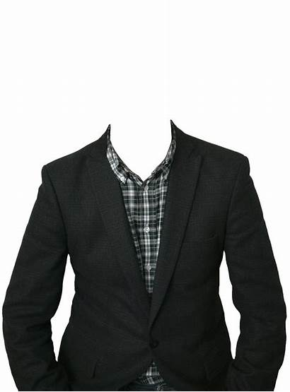Clothes Suit Head Transparent