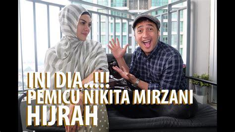 Ini Dia Pemicu Nikita Mirzani Pakai Hijab Youtube