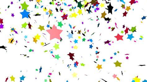 animation  colorful falling confetti luma matte