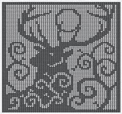 Ravelry: Spirit Deer Knitting Chart pattern by Melanie