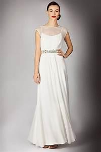 lyst coast helena maxi dress in white With maxi wedding dress